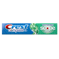 Зубная паста Crest Complete Multi-Benefit Whitening + Scope - отбеливание и уничтожение неприятного запаха