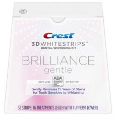 Crest Whitestrips Brilliance gental