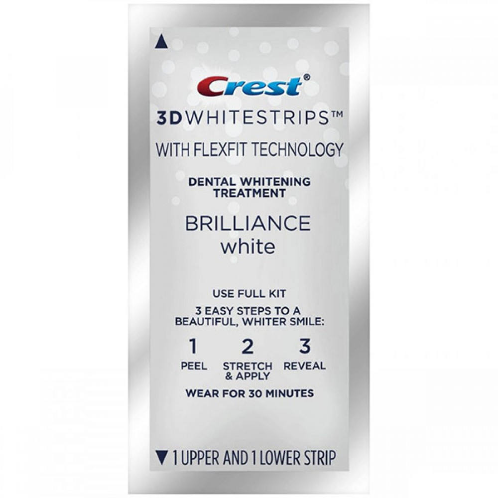 CREST 3D WHITESTRIPS BRILLIANCE WHITE