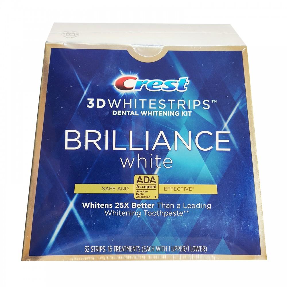 CREST 3D WHITESTRIPS BRILLIANCE WHITE