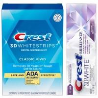 Crest Whitestrips Classic Vivid + Паста