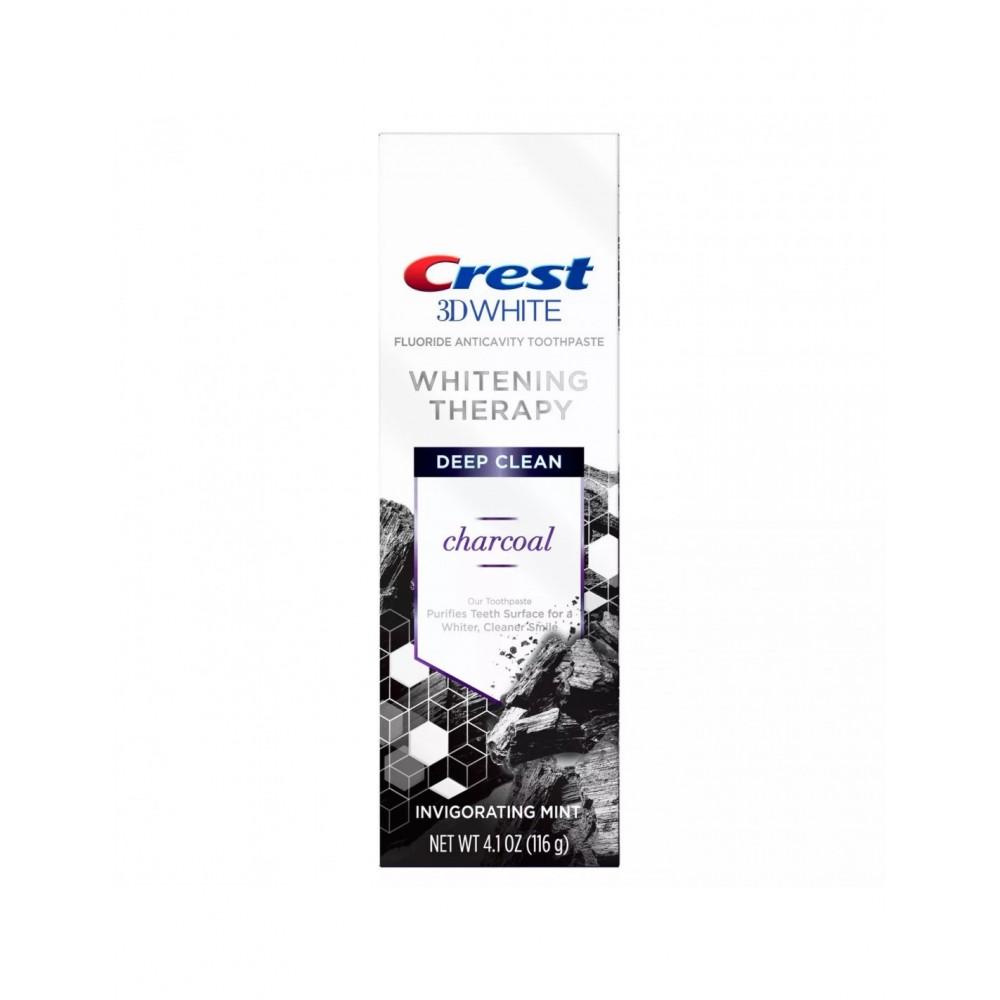 Зубная паста Crest 3D White Whitening Therapy Charcoal - отбеливание и восстановление