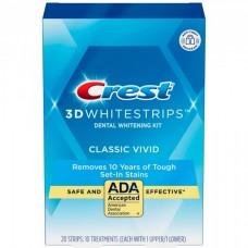 Отбеливающие полоски для зубов Crest 3D Whitestrips Classic Vivid