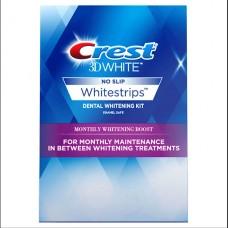 Отбеливающие полоски для зубов Crest 3D White Whitestrips Monthly Whitening Boost Mini