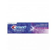 Зубная паста Crest 3D White Radiant Mint - безопасное осветление зубной эмали от поверхностного налета